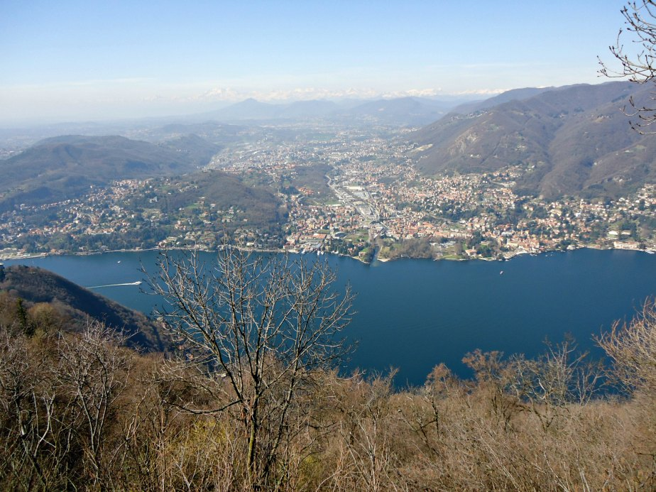 View Over Tavernola Como Italy