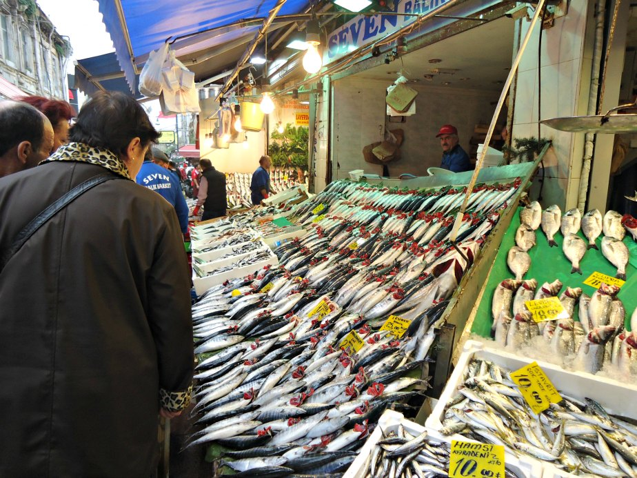 Fish Outside the Spice Market