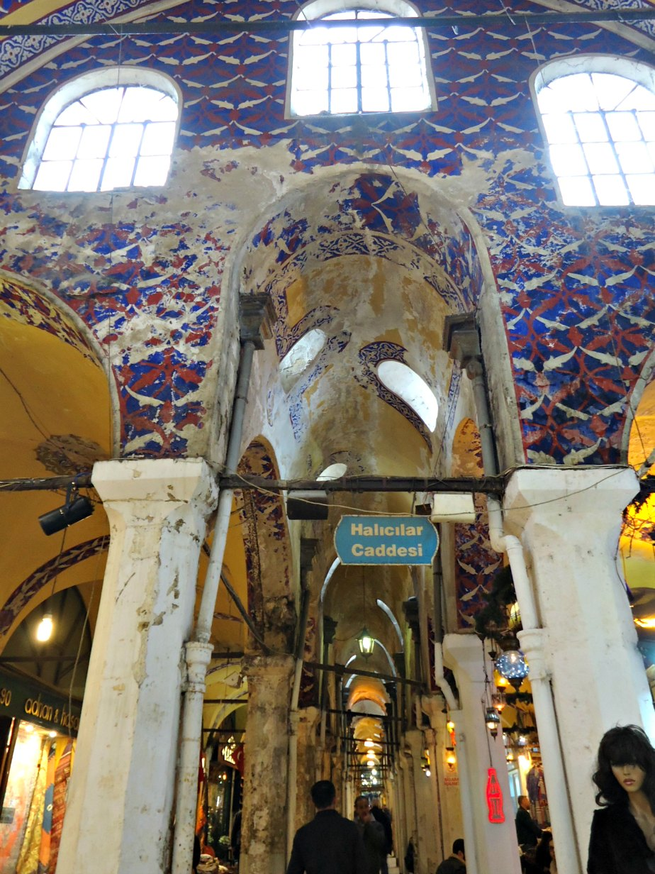 Halicilar Caddessi inside the Grand Bazaar