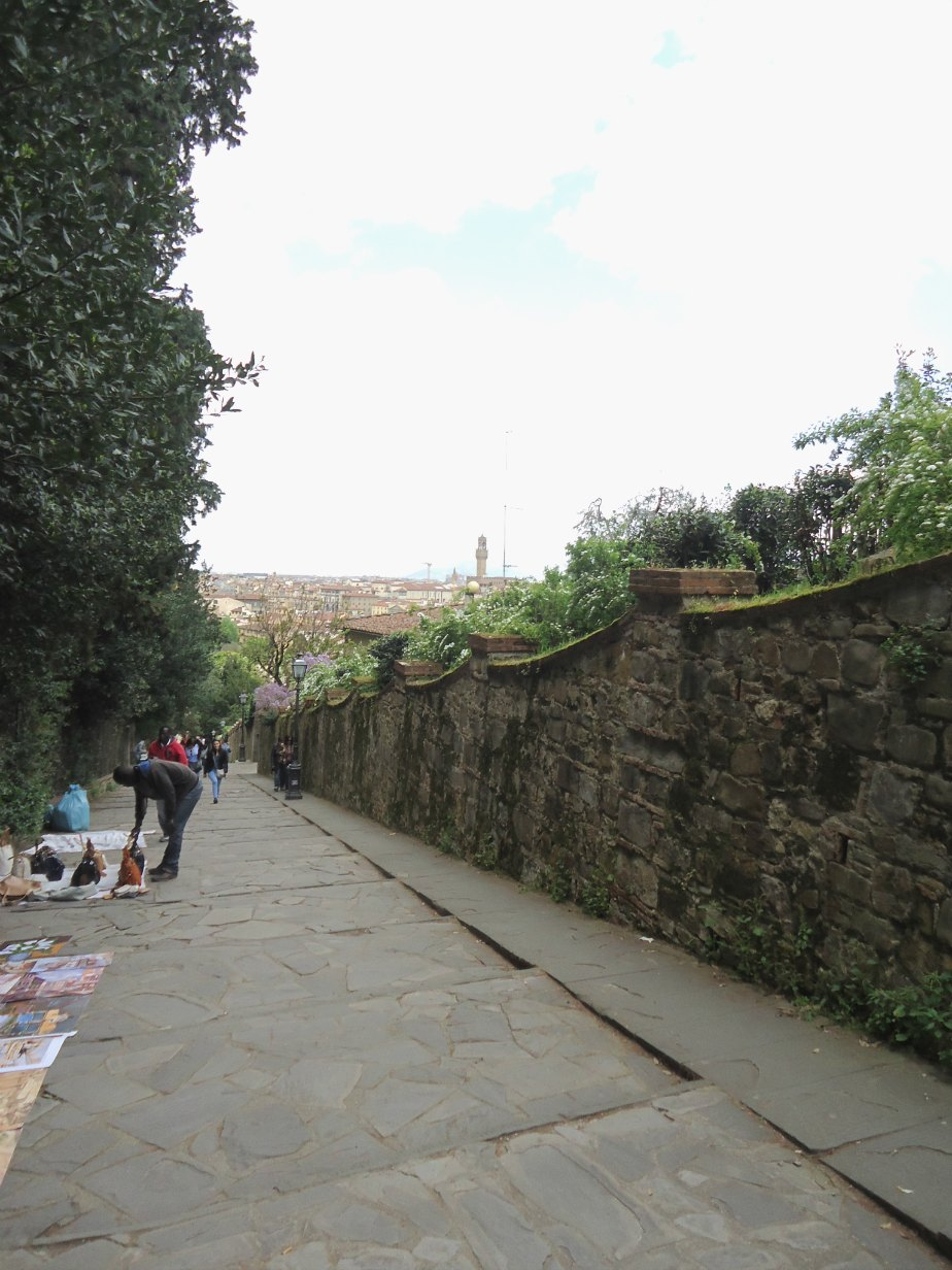 Path Up to Piazzale Michelangelo