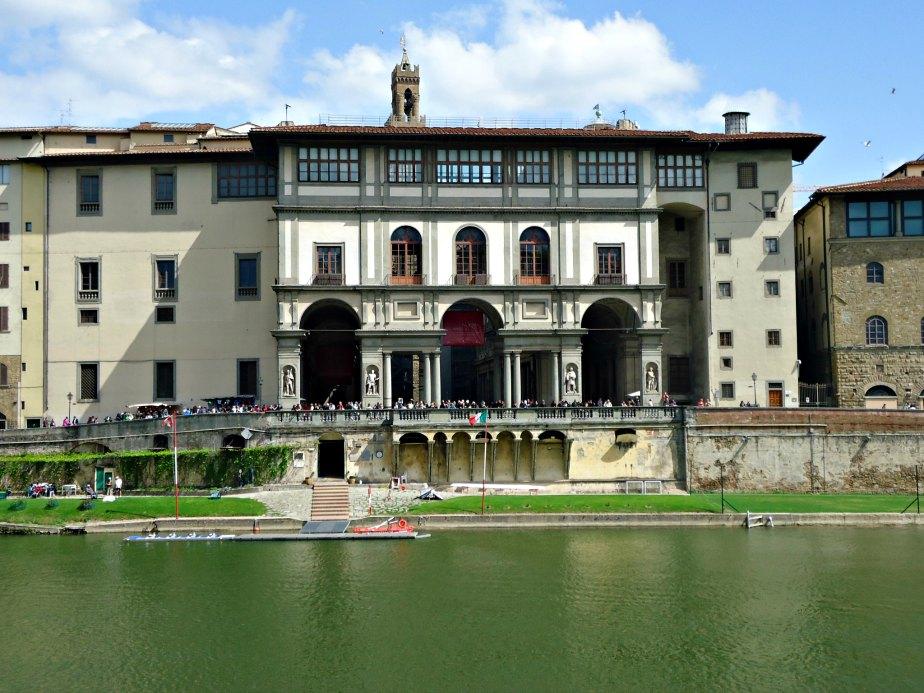 Uffizi Gallery Across the Arno