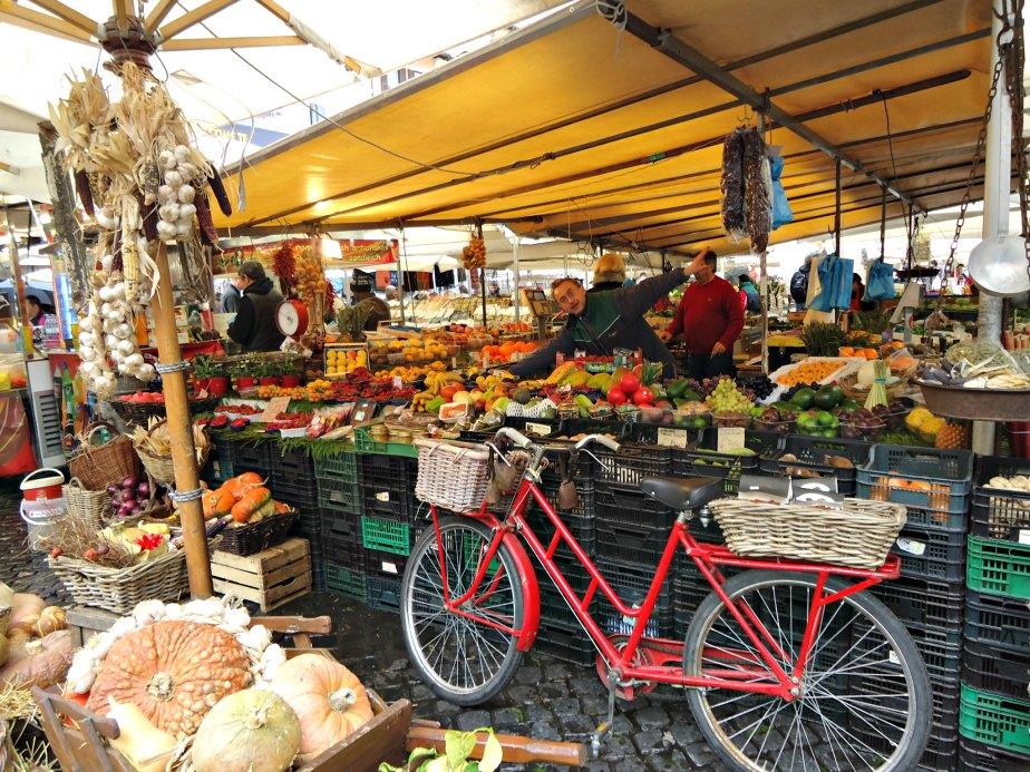 Stall at Campo dei Fiori
