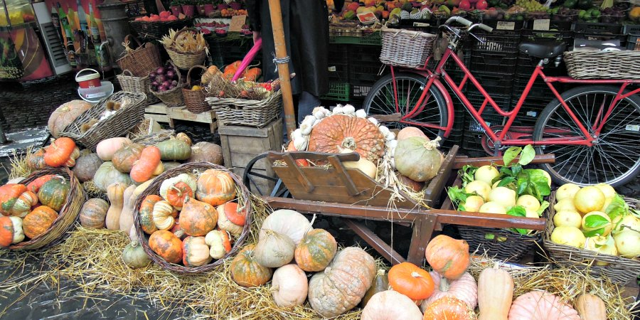 Pumpkins at Campo dei Fiori