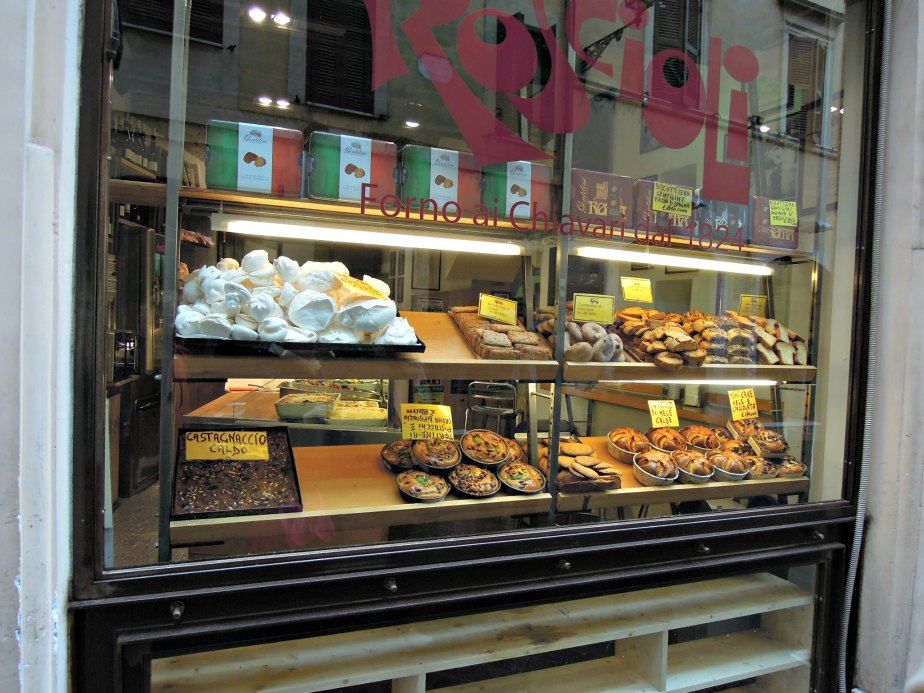 Roscioli Bakery Window, Rome
