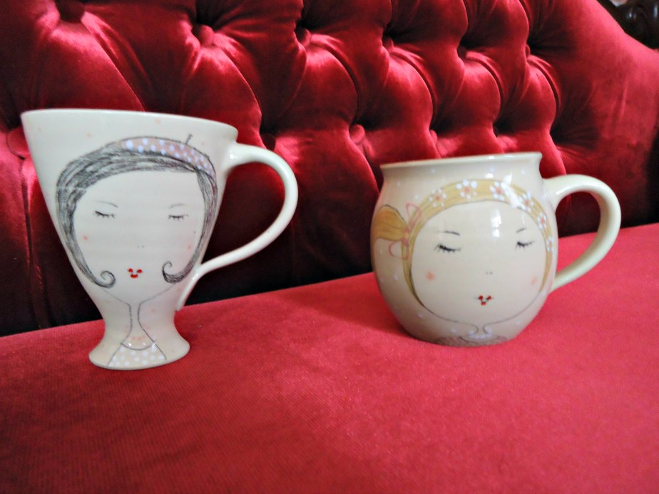 Mugs by Vanda & Valerie