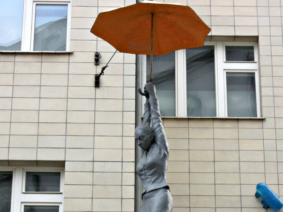 Umbrella Woman from