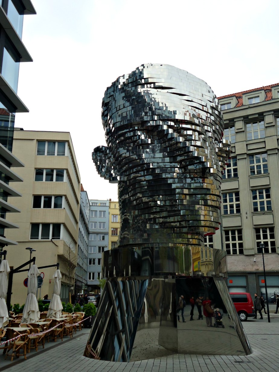 Rotating Kafka Head by David Cerny Prague