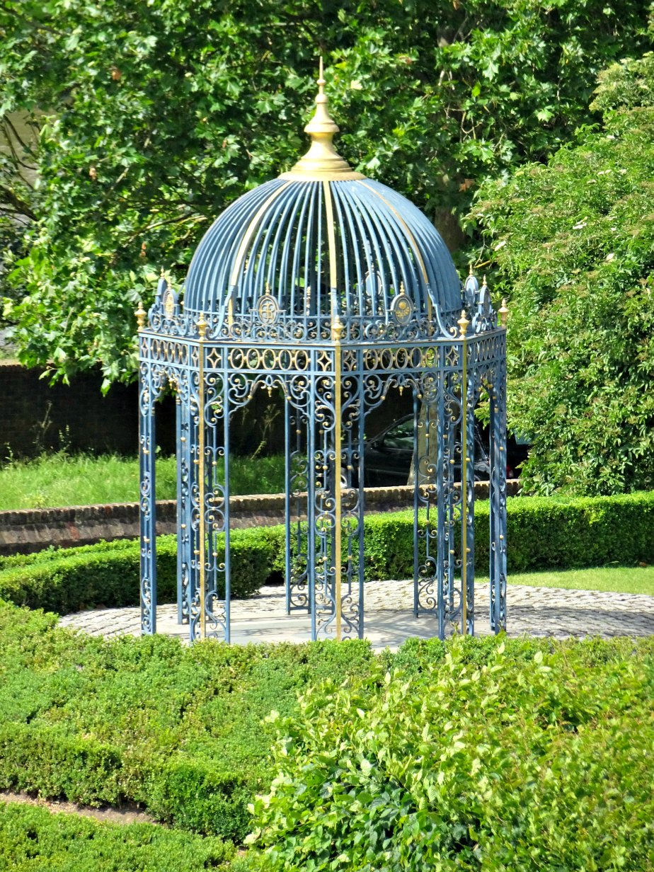 Gazebo in the Gardens of Kew Palace