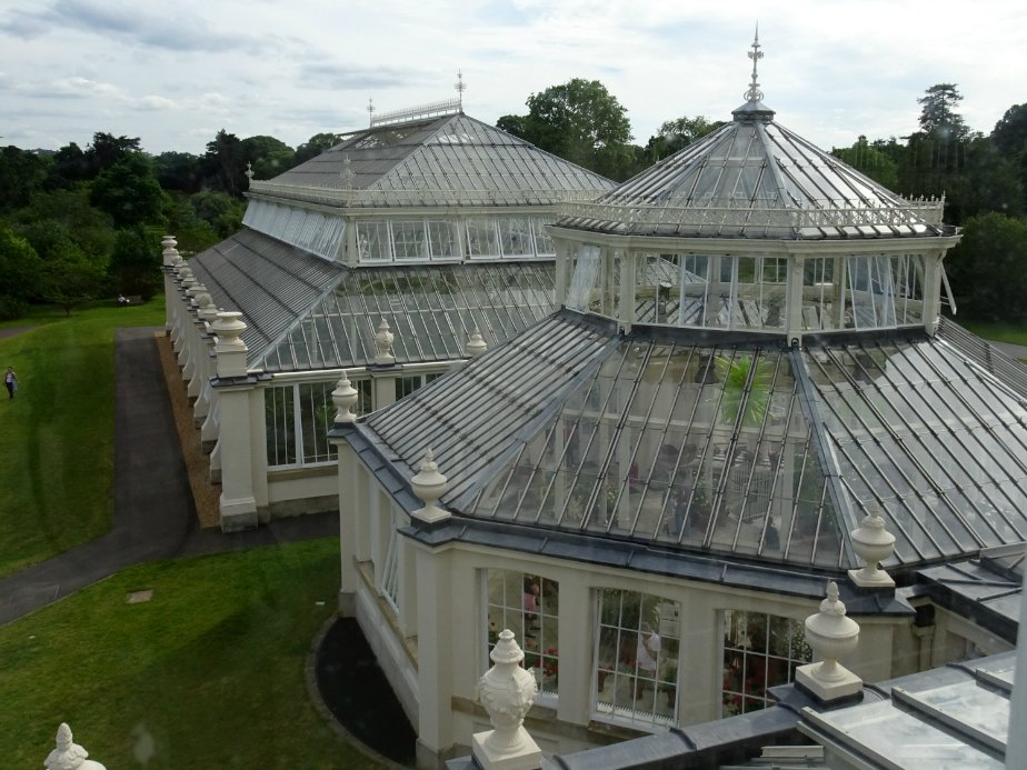 Roof Tops of the Temperate House, Kew Gardens