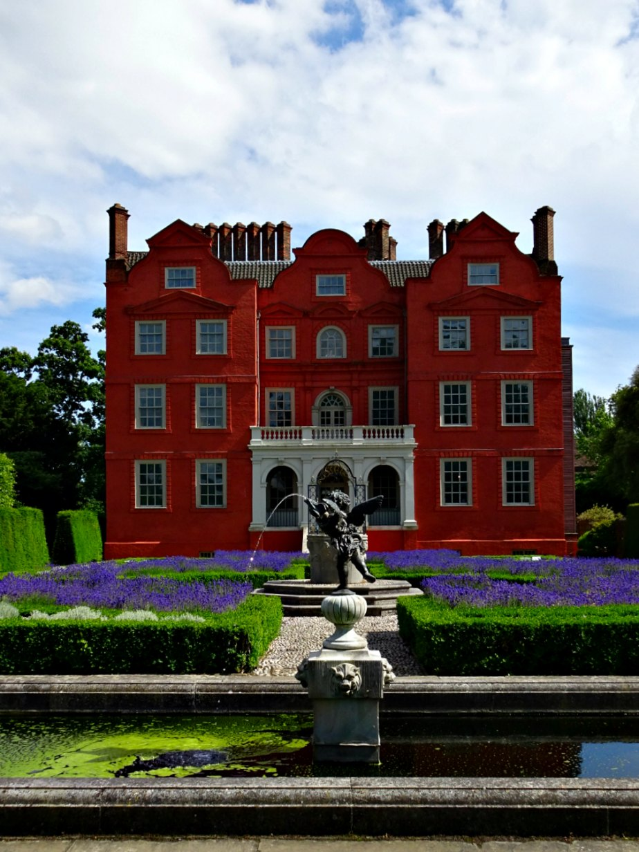 Back Garden at Kew Palace