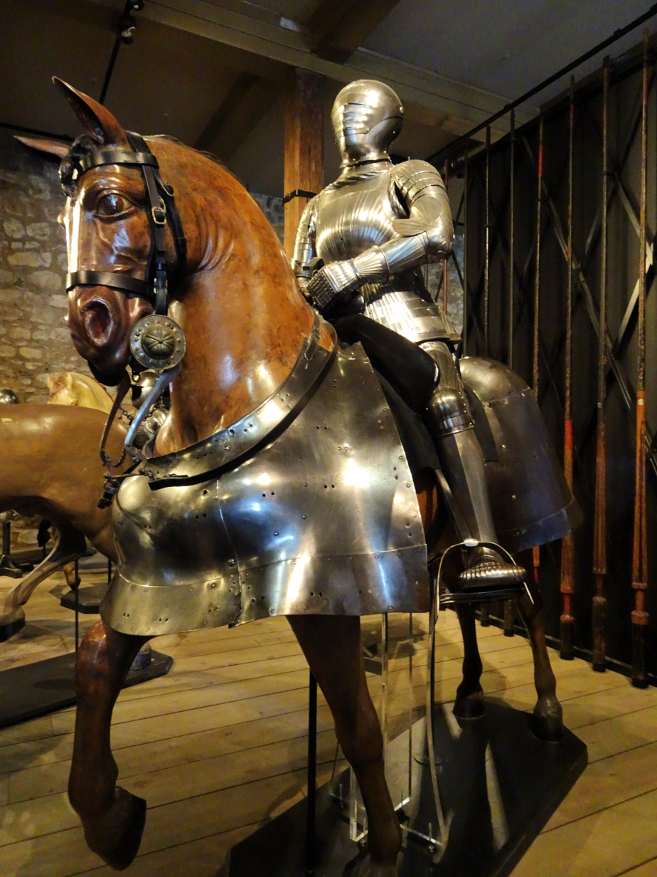 Inside the Tower Armoury