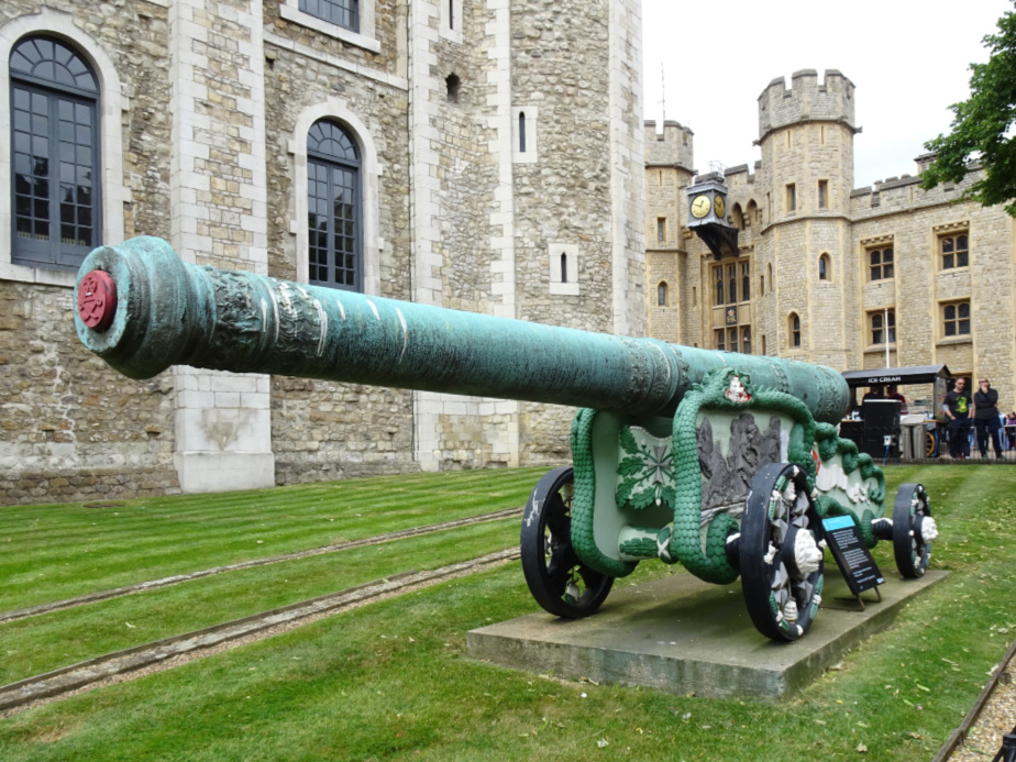 A Very Ornate Cannon