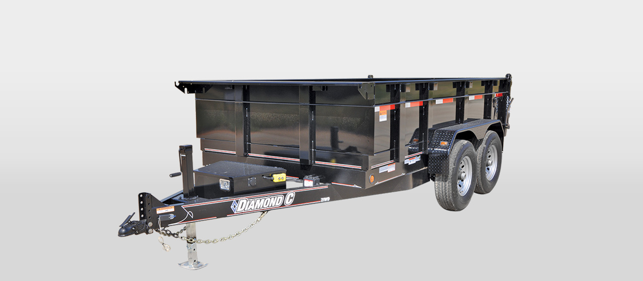 Commercial Grade Heavy Duty Dump Trailers
