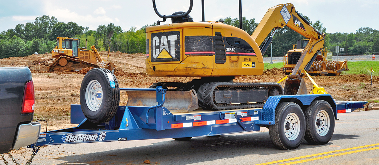 Extreme Duty Hydraulically Dampened Tilt Trailer - GVWR 14,000 lbs