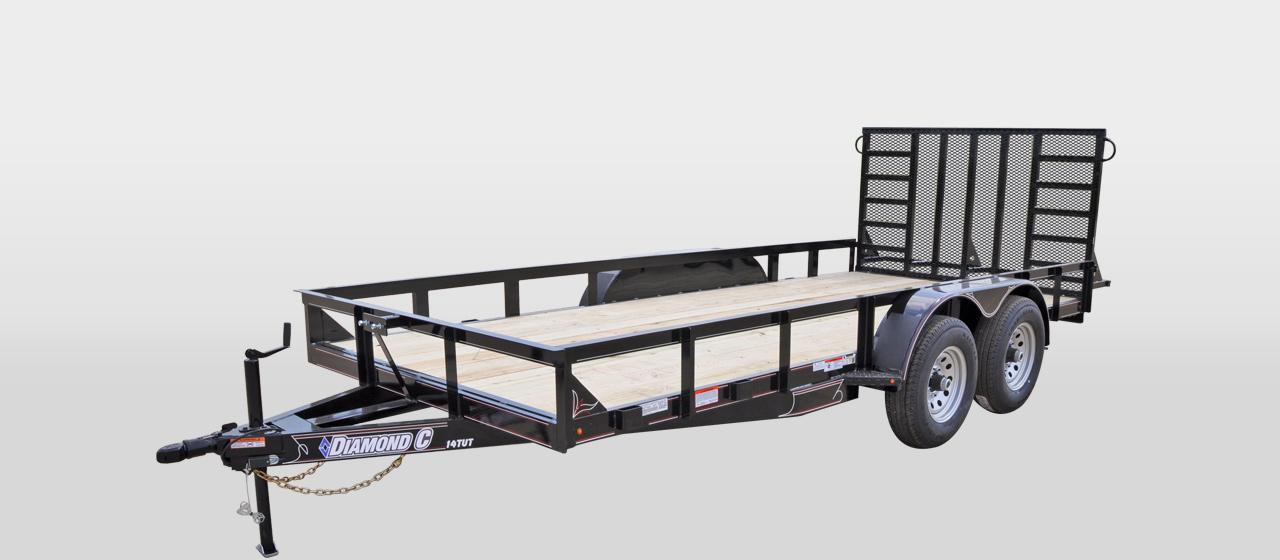DC Texas Utility Trailer - 9,890 lb GVWR