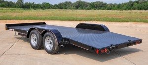 Steel Floor Car Hauler Trailers