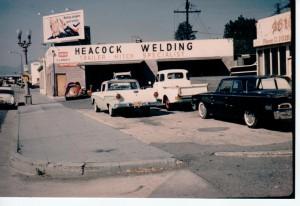 Heacock Welding, Glendale Circa 1965.