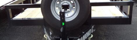 Diamond C 7x18 Ranger Heavy Utility Trailer(9758)