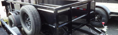 Diamond C  5x10 3RBT Utility Trailer(1003)