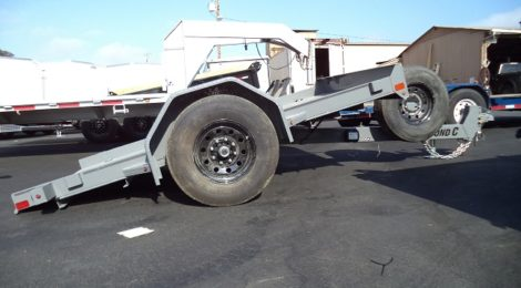 Diamond C 6x10 Dampened Single Axle Trailer(9421)