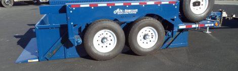 Air Tow 6x12  Utility Bed Trailer(6285)