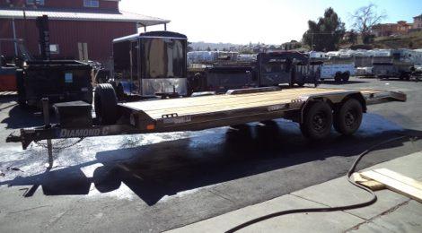 Diamond C 8X20 Mid Deck Trailer(8466)