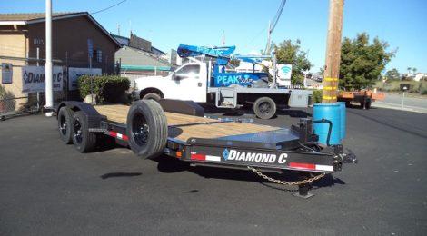 Diamond C 7X20 HD Equi/Hyd Tilt Trailer(9565)