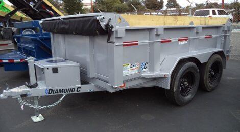 Diamond C 6x10 EDG235 Dump Trailer(3145)
