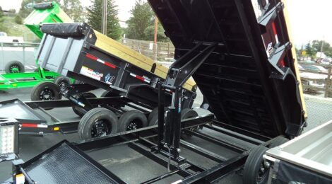 Diamond C 7x14 LPD207 Dump Trailer (3944)