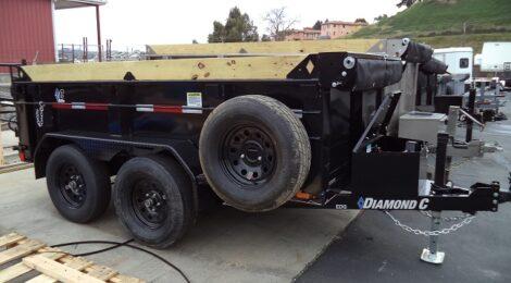 Diamond C 5x10 EDG235 Dump Trailer (4000)
