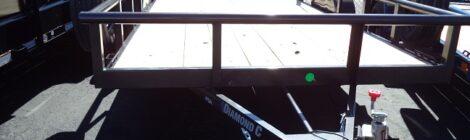 Diamond C 6x12 PSA Single Axle Trailer(3006)