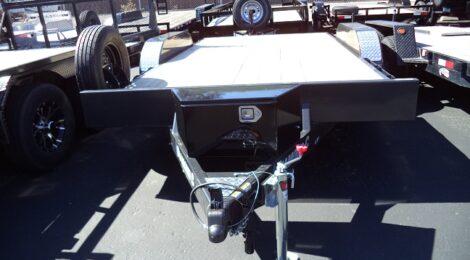 Diamond C 7x14 WOOD FLOOR CAR HAULER Trailer(3379)