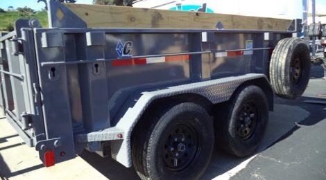 Diamond C 6x10 EDG235 Dump Trailer(5772)