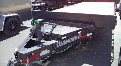 Diamond C 8.5x20 HEAVY DUTY DECK-OVER EQUIPMENT TRAILER(5775)