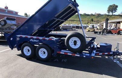 Air Tow 6x12 3D-12 Drop-Deck/Dump Trailer (7183)