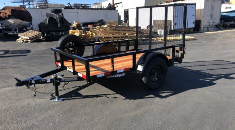 Iron Panther  5x8 Utility Trailer(6987)