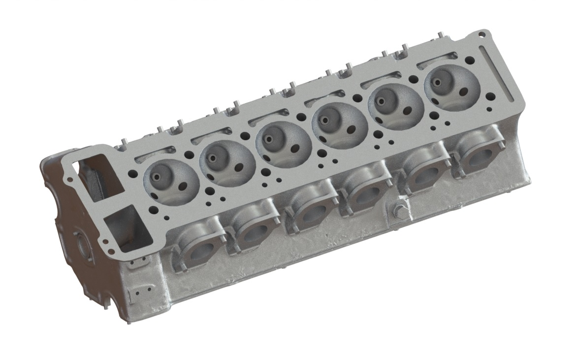 Bolton Works Maserati Straight Six Cylinder Head (2)