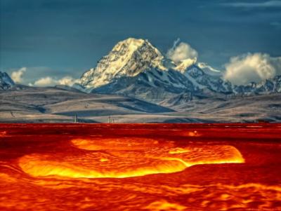 Massive 'lake' Discovered Under Volcano in Bolivia, South America