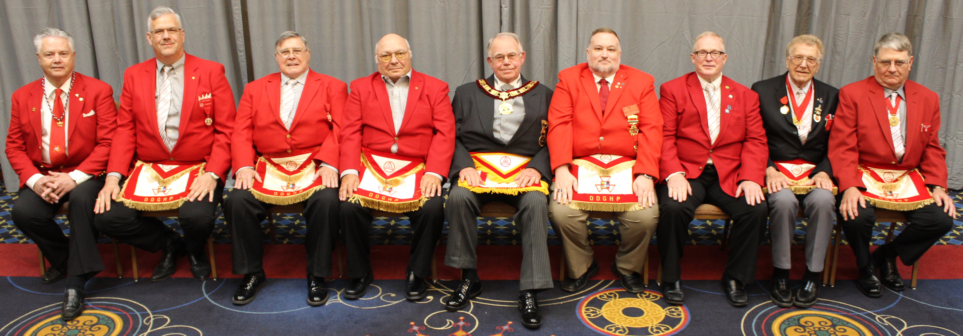 2019 Grand Chapter District Deputy Grand High Priests