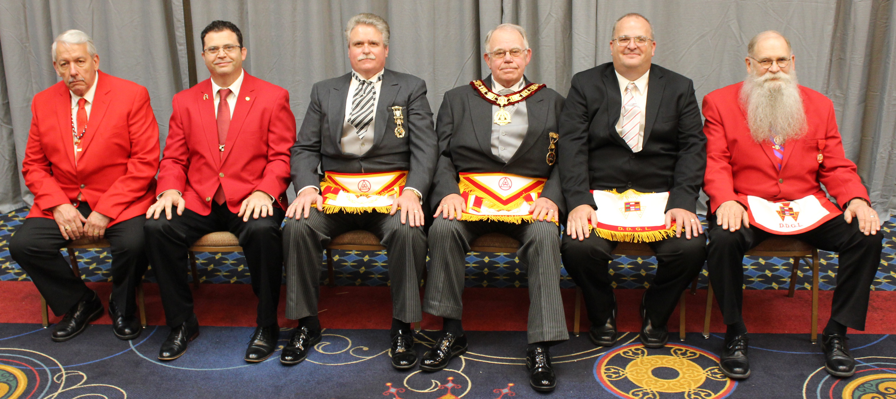 2019 Grand Chapter District Deputy Grand Lecturers