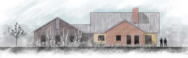 Williams Residence Photoshop Rendering