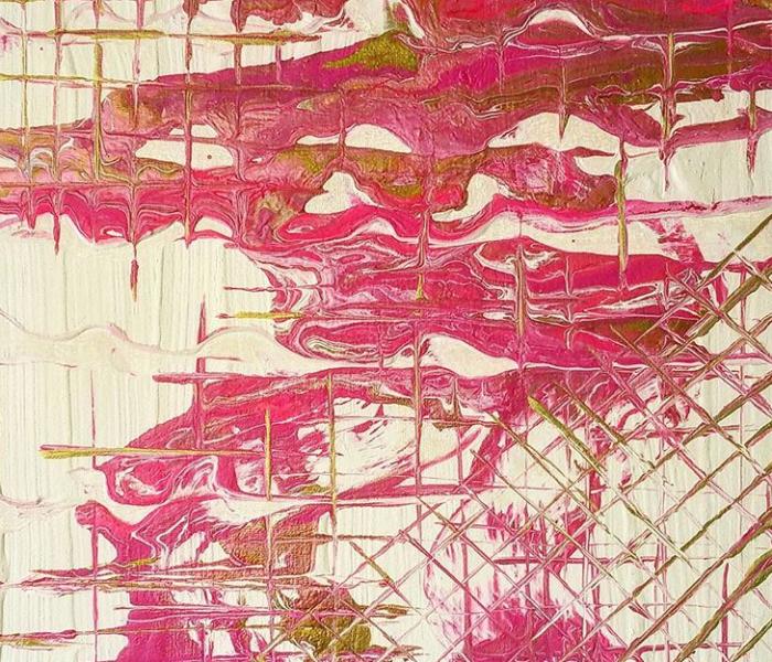 wondARTful | Ep1: Painting Tutorial: Pink/Gold Fluid Pour
