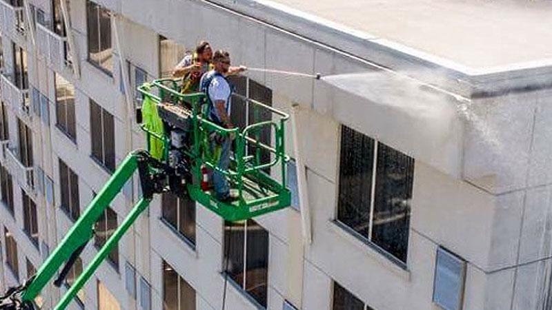 Building Pressure Washing Louisville KY