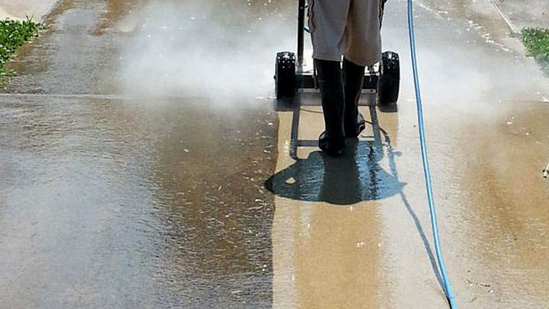 Concrete Pressure Washing Louisville KY
