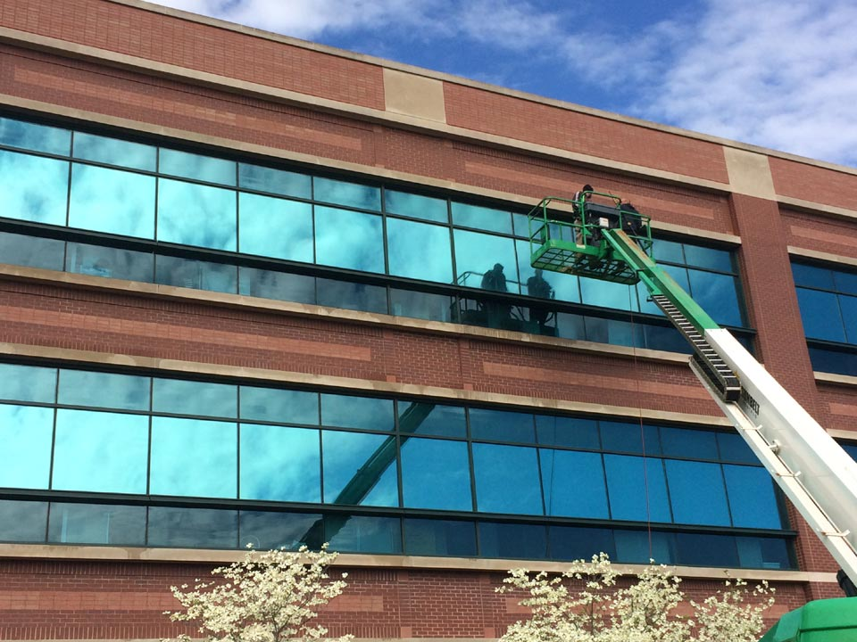 Office Building Soft Washing in Louisville KY