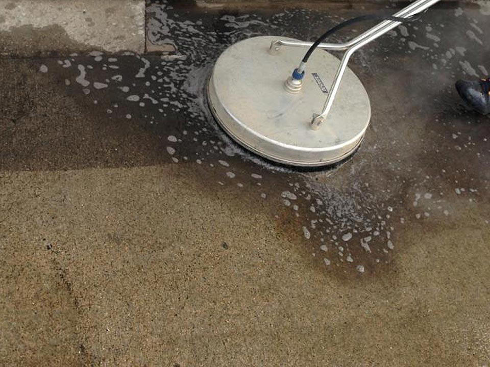 Concrete Power Washing in Louisville KY