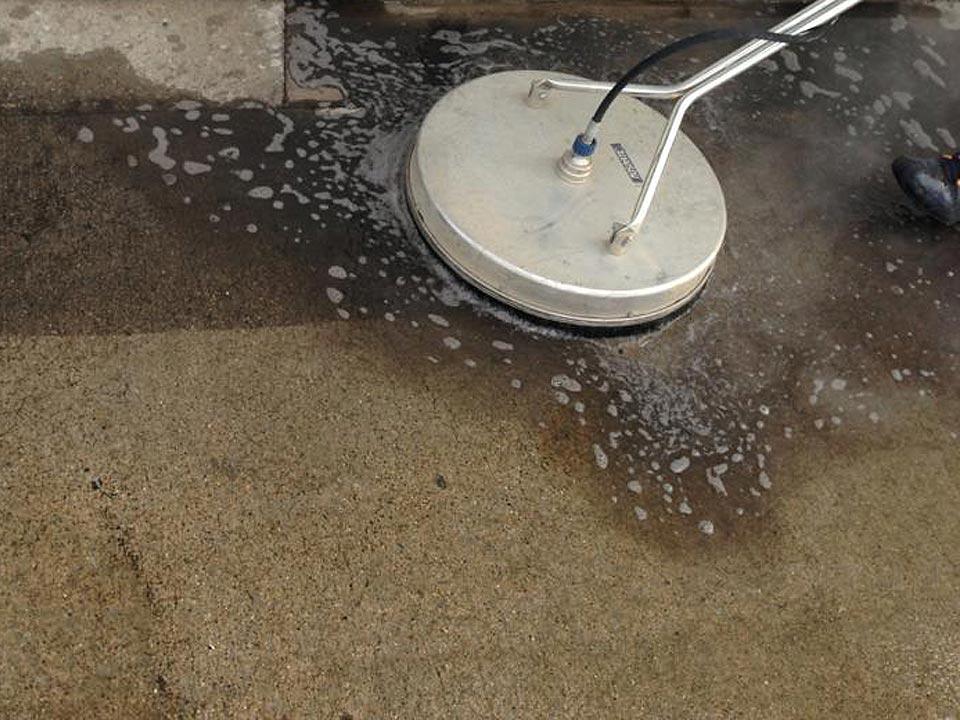 Concrete Power Washing in Louisville KY