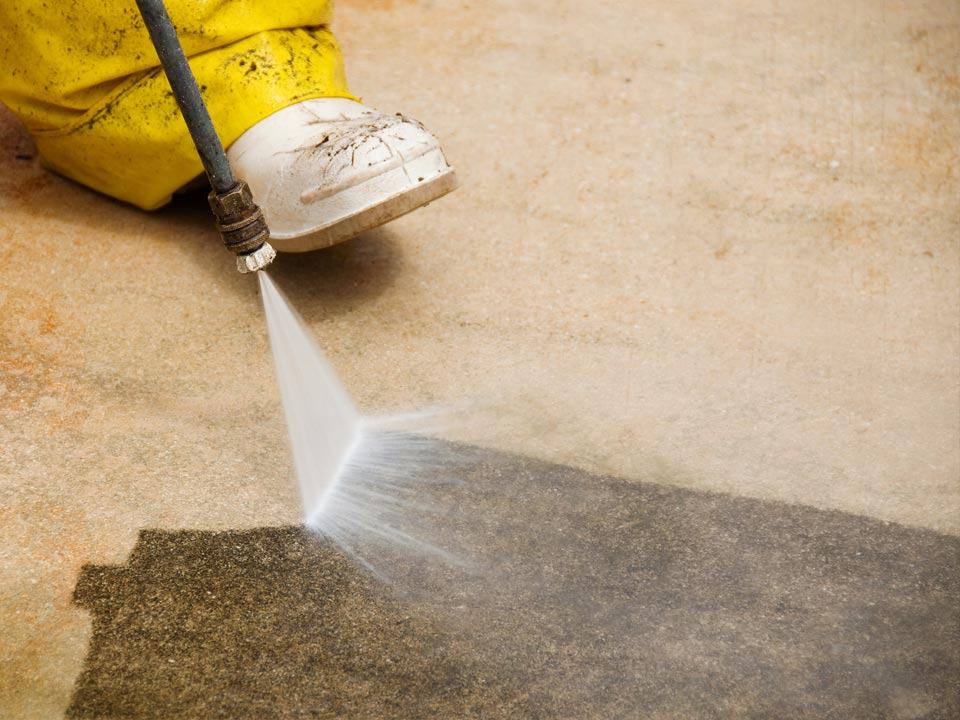 Concrete Pressure Cleaning in Louisville KY