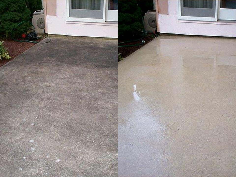 Patio Pressure Washing in Louisville KY