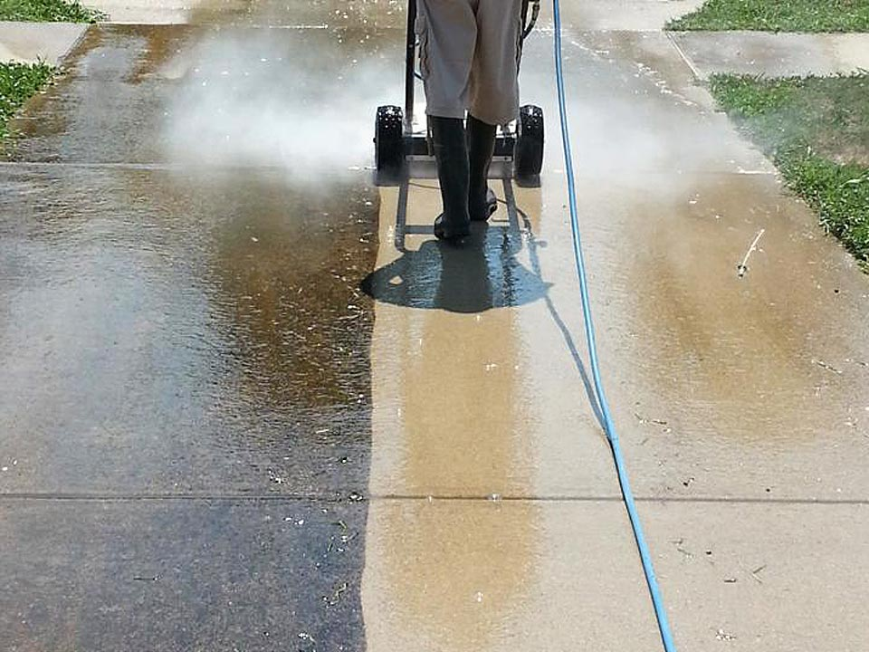 Concrete Cleaning Service in Louisville KY